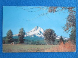 Mount Hood, Oregon. A Lovely Scenic View Of Oregon's Grand Mountain From A Hood Valley Ranch. - Non Classés