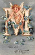 "¤¤  -  Illustrateur   -  Alphabet "" Lettre M ""  -  Ange , Angelot   -  ¤¤ - Anges"