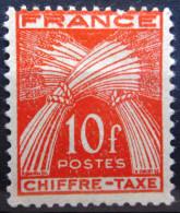 FRANCE          TAXE 76            NEUF* - Taxes