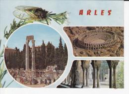 ARLES (13- B.du R.), Reflets De Provence, Multi-Carte,  Cigale, Ed. P.E.C. - Arles