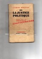 """GUERRE 1939-1945- JACQUES MARITAIN- DE LA JUSTICE POLITIQUE - 1940- EDITEUR PLON """" PRESENCES """" - Books, Magazines, Comics"""