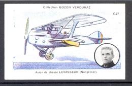 Chromo Bozon-Verduraz  AVIATION  SERIE C-27 - Trade Cards