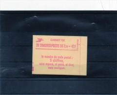 Carnet N° 2319 C4A Gomme Mat. Ferme Luxe . ( 20 Timbres -Poste De 2,10 F ) ( Conf/8 ) - Carnets