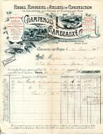 55.MEUSE.COUSANCES AUX FORGES.FONDERIES.ATELIERS DE CONSTRUCTION.CHAMPENOIS-RAMBEAUX. - France