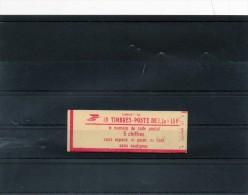 Carnet N° 2059c3 Conf 9 Fermé Luxe  (10  T / P De 1,30 F ) - Carnets