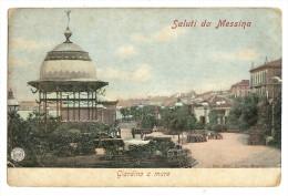 Vintage Sicily Messina Giardino A Mare Pc  Unused - Messina