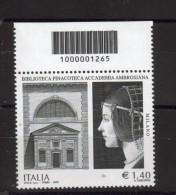 BELLISSIMO FRANCOBOLLO ITALIA REPUBBLICA NUOVO CODICE A BARRE 2009 185 - 6. 1946-.. Repubblica