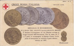 Croce Rossa Italiana Medaglia Di Benemerenza - Croce Rossa