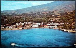 DOM TOM TAHITI   PORT DE PAPEETE CARTE ANNEE 1969 - Tahiti