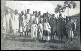 COTE DES SOMALIES  EINGEBORENE  INDIGENES ARMEES ETHNOLOGIE TIMBRE ET CACHETS AU DOS - Somalie