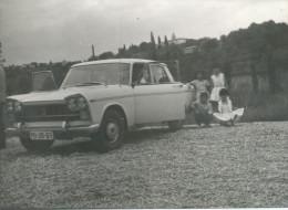 FIAT 1300, OLD CAR VINTAGE AUTO AUTOMOBILE, Kids,  -  Vintage Old Photos Photograph - Automobili