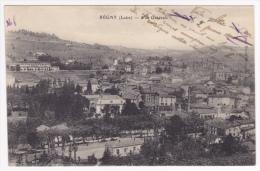 Régny - Vue Générale - Circulé Sans Date, Sous Enveloppe - Francia