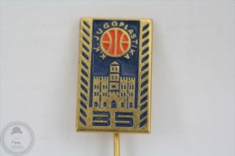Old Croatia, Split Basketball Club: K.K. Jugoplastika 35 - Pin Badge - Baloncesto