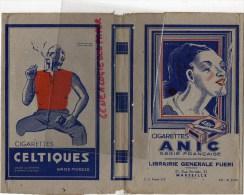 13 - MARSEILLE - PROGE CAHIER LIBRAIRIE  FUERI-21 RUE PARADIS- TABAC CIGARETTES CELTIQUES- ANIC- WEEK END-BALTO- - Tabac & Cigarettes