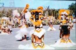 DOM TOM TAHITI TAMURE EXECUTE PAR LE GROUPE HEIVA - Tahiti