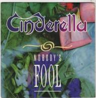 CINDERELLA : Nobody's Fool / Push Push (Sg) - Hard Rock & Metal