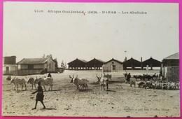 Cpa N° 2109 Sénégal Les Abattoirs Dakar Carte Postale Afrique Occidentale - Senegal