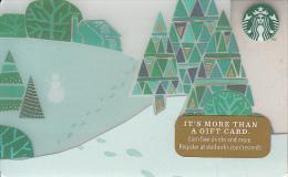 USA - Christmas, Starbucks Card, CN : 6103, Unused - Gift Cards