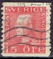SWEDEN # STAMPS FROM YEAR 1921  STANLEY GIBBONS 122 - Gebruikt