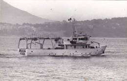 Batiment Militaire Marine Francaise A 743 Denti Signee Eseguita Nov-1977 - Boats