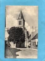SANCERGUE-Place De L'église - A Voyagé En 1960-édition Combier - Sancergues