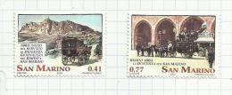 Saint-Marin N°1884, 1885 Neufs (sous Faciale) - Saint-Marin