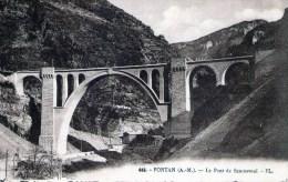 FONTAN Le Pont De Scarassouï N°446 - Sonstige Gemeinden