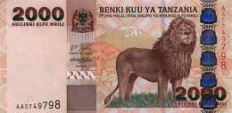 TANZANIA  2000  SHILLINGI  2003  KM#37  PLANCHA/UNC/SC    DL-7123 - Tanzania