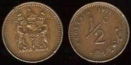 RHODESIA  1/2 Cent  1.970  Cobre  UNC/SC  KM#9    DL-7186 - Rhodésie