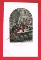 LE CABARET DES TROIS TONNEAUX ...( Genre Gravure... CHARPENTIER DEL - PARDINEL SC ) - Old Paper