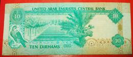 ★ARAB DAGGER★ UNITED ARAB EMIRATES★ 10 DIRHAMS 1995! UNCOMMON! LOW START ★ NO RESERVE! - Emirats Arabes Unis