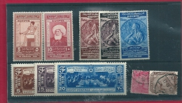 Egypt Mixed Lot - Stamps