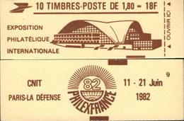 """CARNET 2220-C 3 Liberté De Delacroix """"PHILEXFRANCE 82"""" Brun-jaune, Fermé, Parfait état Bas Prix RARE - Carnets"""