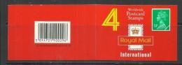GREAT BRITAIN - GRAN BRETAGNA 1991 BOOKLET 33p £ 1,32 UNUSED LIBRETTO 33 PENNY NUOVO - Booklets