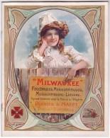 """PUBLICITE / AGRICULTURE / MATERIEL / Marque """"MILWAVKEE"""" - Pubblicitari"""