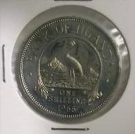 @Y@  Oeganda    1 Shilling  1966 BU    (2813) - Ouganda