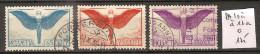 Suisse PA 10a à 12a Oblitérés Côte 125 € - Poste Aérienne