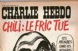 Revue Charlie Hebdo Couverture Illustrée  Cabu   1 Octobre 1973 - 1950 à Nos Jours