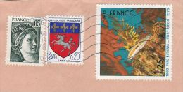 1978 FRANCE COVER 1.25 FISH National Park Stamps To GB - Fishes