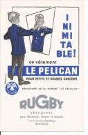 Buvard Marseille, 7 Et 9, Rue De La République. Vêtements Le Pélican. - Textile & Vestimentaire