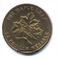 FIORI DEL CANADA THE MAPLE LEAF / LA FEUILLE D'ERABLE 1867 - Monetari / Di Necessità