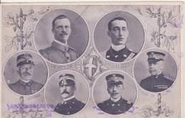 Vittorio Emanuele III-Cadorna- Porro- Viale- Thaon De Revee-  Sar Duca Abruzzi - Case Reali