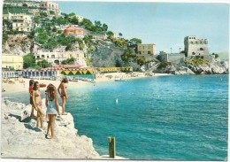 K2519 Maiori (Salerno) - Erchie - Costiera Amalfitana - Panorama - Ragazze Girl Femme Frau Chica / Viaggiata 1972 - Altre Città