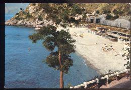 L7277 SAN GREGORIO DI CANNITELLO - SPIAGGIA E FERROVIA SULLO SFONDO - Other Cities