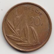 @Y@     België   20  Frank  1982    ( 4647 ) - 1951-1993: Baudouin I