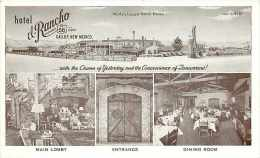 234605-New Mexico, Gallup, Hotel El Rancho, Multi-View, Interior & Exterior Scenes, Route 66 - Sonstige
