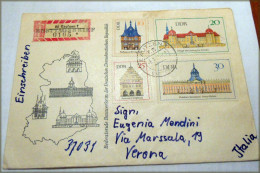 DDR 1968 Bedeutende Bauwerke  Michel-Nr.: 1379/82    RARE ITALIA VERONA Part N°2 - Non Classés