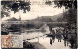 FRANCE 1905 - L´AUVERGNE PITTORESQUE POSTAL CARD With 1c + 4c Type Blanc