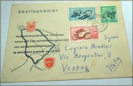 DDR 1963 Weltmeisterschaftsläufe Im Motocross Michel-Nr.: 972/74   RARE ITALIA VERONA Part N°2 - Non Classés