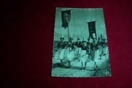 POULDREUZIC  ° LA PROCESSION AU PARDON DE  NOTRE DAME DE PENHORS  LE 15 07 1959 - Autres Communes